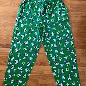 Other - Snoopy Joe Cool cotton pajama bottoms